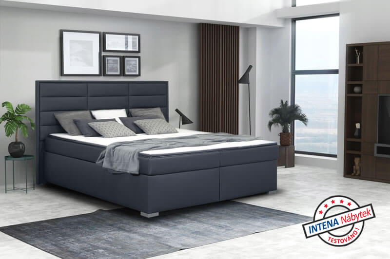 Test americké postele s úložným prostorem Nomento