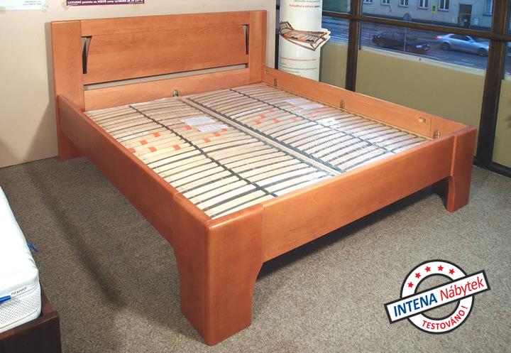 Detail roštů postele Olymia