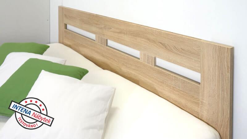 Test postele s úložným prostorem Pegas