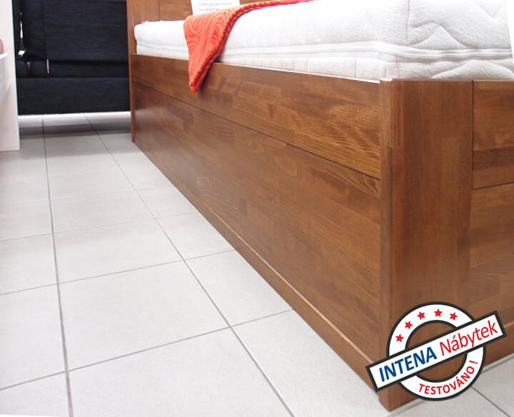 Detail opracování postele Valecia Senior