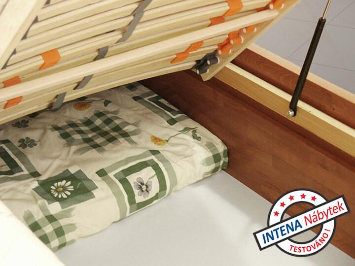 Čelní výklop u postele Valencia Senior