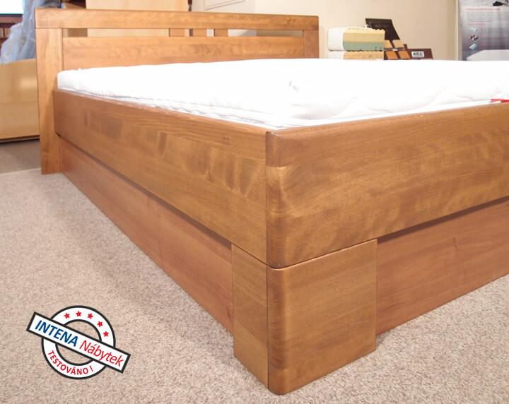 Detail bočnice postele Varezza 1