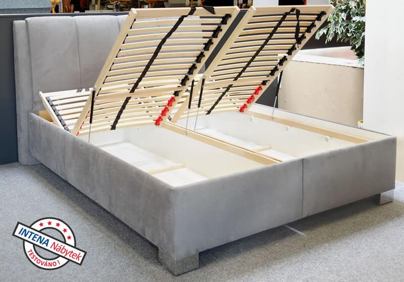 Test postele s úložným prostorem Guvernér