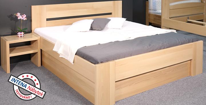 Test postele s úložným prostorem Matěj