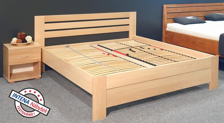 Test postele z masivu Rita