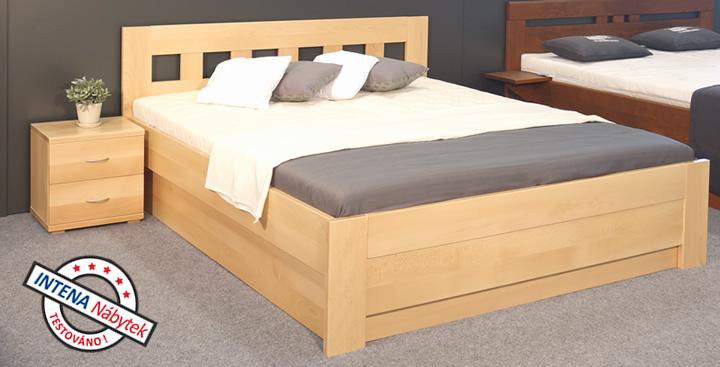 Test postele s úložným prostorem Rocco