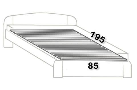 12. 85x195 cm