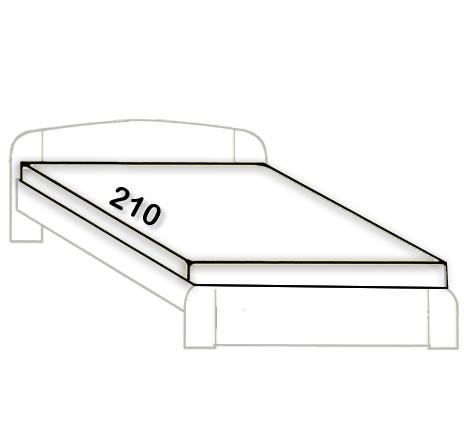 2-Prodloužení na 210cm