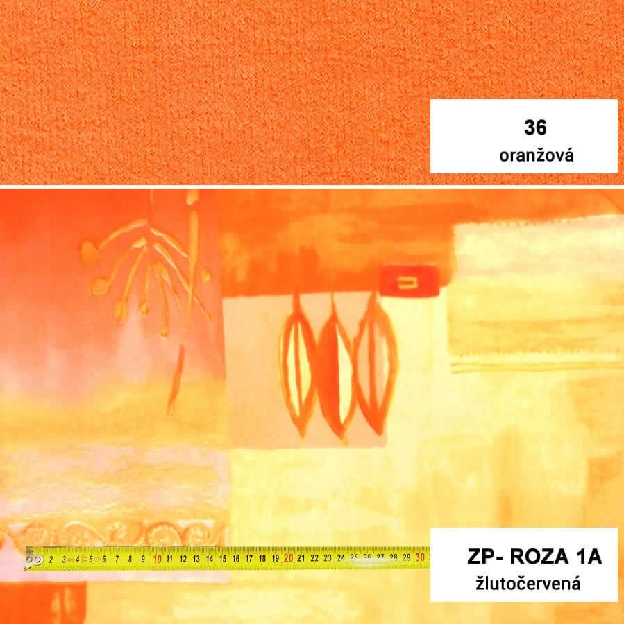 16. Oranžová