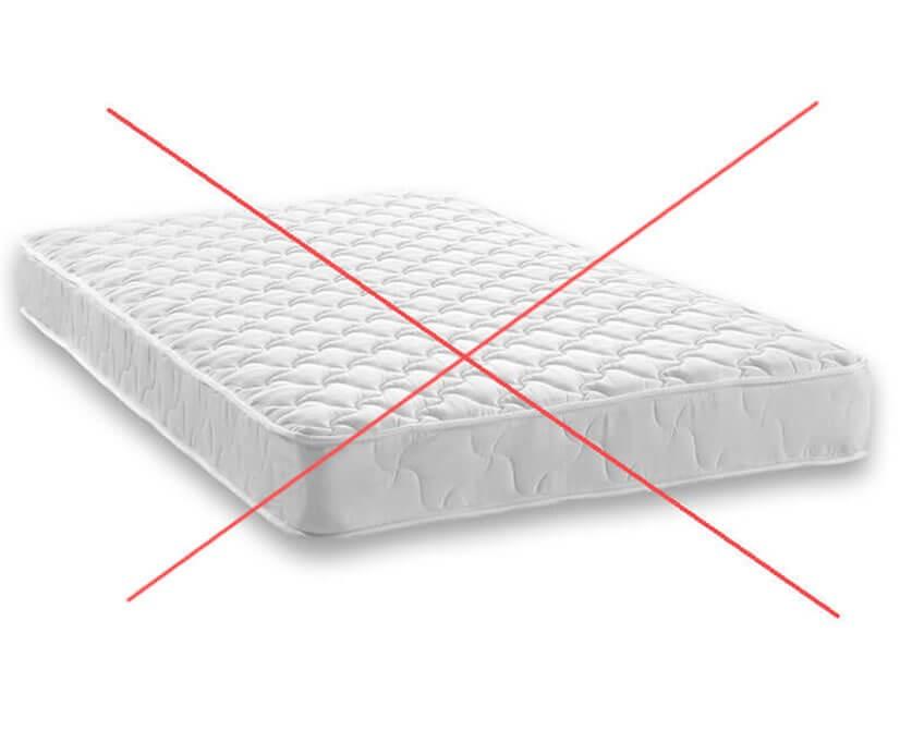 Bez matrací