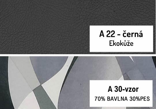 14. Béžová-černá ekokůže