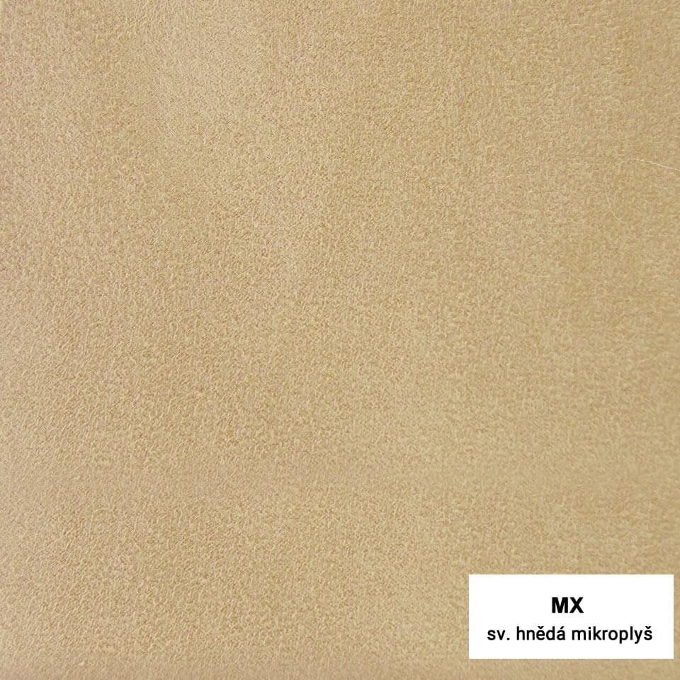 MX - mikroplyš