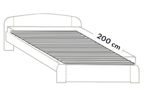 1. Standard 200 cm