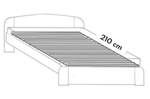 2. Prodloužení do 210 cm