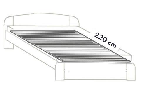 3. Prodloužení do 220 cm