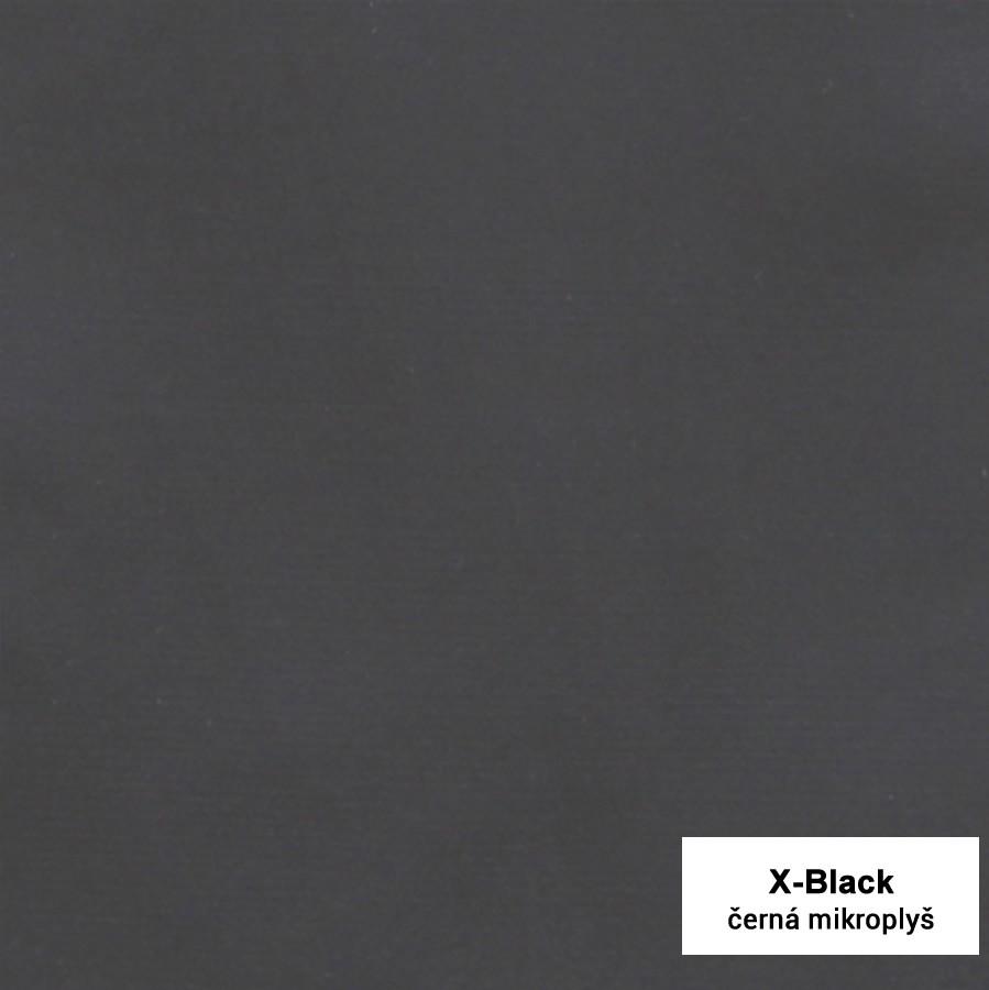 Mikroplyš černá