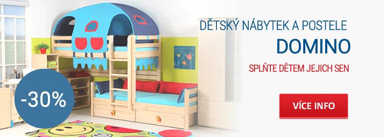 Dětský nábytek DOMINO sleva 30%