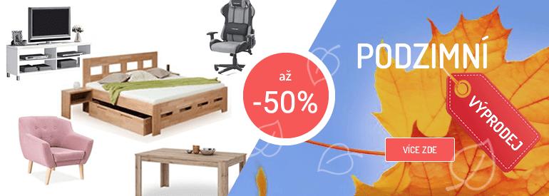 Podzimní výprodej nábytku